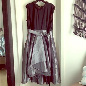 Black and silver Cocktail dress size 18W